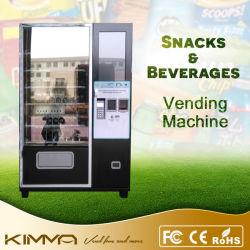 Frutas e Máquina de Venda Automática Combo Boisson com tela sensível ao toque