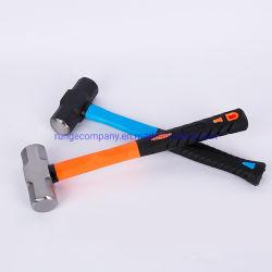Hardware Herramientas de Mano de maza Double-Face forjado con mango de madera de fibra de vidrio ISO
