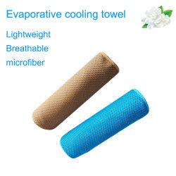 Tovagliolo fresco del ghiaccio del sussidio rapido, tovagliolo di raffreddamento freddo del gioco di sport di Microfiber