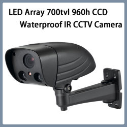 감시 LED Array 700tvl 960h CCD Waterproof IR CCTV Camera