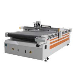 Vibrar CNC Máquina de corte de cuchilla un paño de tela con textiles de alimentación automática