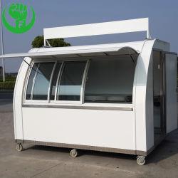 تصميم جديد متعدّد وظائف يتعشّى متحرّك [إيس كرم] طعام مقطورة طعام عربة لأنّ عمليّة بيع