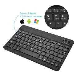 Универсальный 7 8 дюйма 10.1-дюймовый Bluetooth клавиатура для планшетных ПК, Andriod Windows, Apple