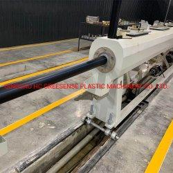 O plástico de alta eficiência de HDPE/LDPE máquina de tubos com 90 kw de capacidade e Motor 400kg/H