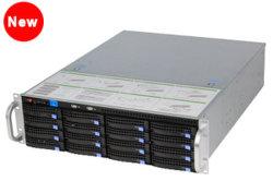 Ai NVR Steun RAID5, de Server Nvss8716 van het Ruilmiddel van de Erkenning 16HDD van het Gezicht de Hete van de Opslag van de Opslag RAID6