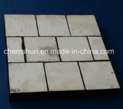 Chemshun las alfombrillas de goma con mosaico de alúmina utilizadas en química