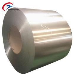 Construção de matérias-primas de qualidade superior para telhados Cr Chapa de Aço de bobina de aço laminado a frio em stock