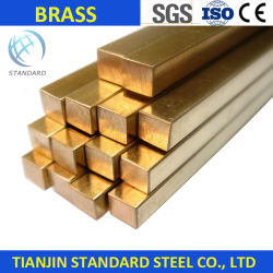 Top Grade métal jaune Barres rondes en laiton solide