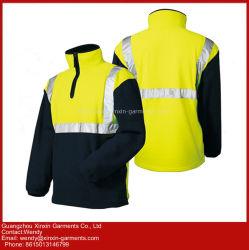 人の青い屋外の羊毛のジャケットの反射安全ジャケットの保護服装(W433)