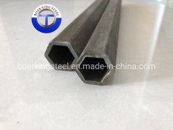 1020 tubos de acero templado Hexagonal/tubos de acero de forma especial y tuberías