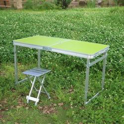 Camping de aluminio plegable portátil Outdoor Indoor Picnic de deportes de playa Jardín mesa plegable