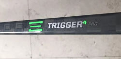 100%Carbonファイバーの物質的なトリガー4のプロアイスホッケーの棒中国製