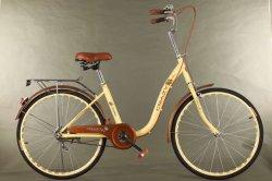 """26 """" signora Bike con la bici della città di stile della barra U dell'elemento portante e della maniglia di Cp"""