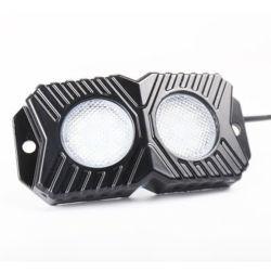 4PCS APP-Bluetooth 4pods RGB Streifen Felsen-Licht-Selbstdekoration-Licht-Auto RGB-LED mit seitlichem Markierungs-Licht