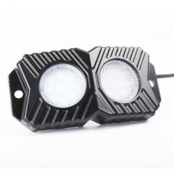 4PCS APP Bluetooth 4pods RGB 바위 빛 옆 마커 빛을%s 가진 자동 훈장 빛 차 RGB LED 지구