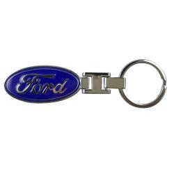 Hochwertiges kundenspezifisches Zink-Legierungs-Metallauto-Firmenzeichen Keychains