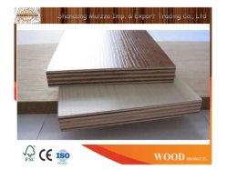 Grau de mobiliário melamina /Laminado folheado de madeira natural Madeira contraplacada
