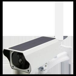 ソーラーパワーワイヤレスウォッチカメラ 1080p ライブビデオ音声インターコム CCTV カメラ