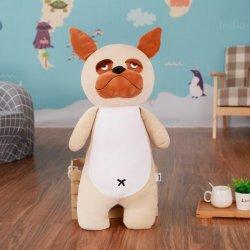 27-60cm Soft recheadas de brinquedos para bebés de pelúcia Amor Dog Almofada de dormir