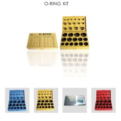 Kit de joint torique Box Set 210pcs taille assorties des joints toriques Viton Silicone NBR FKM Kn cnbaab70-20210