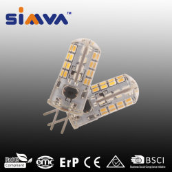 LED de luz da lâmpada LED Simva G4 Lâmpada LED SMD G4 homologada 1,5 W 100lm (15W equivalente de halogéneo) AC/DC12V ou 220-240 V Lâmpada LED Grau 360 3000-6500K com aprovado pela CE