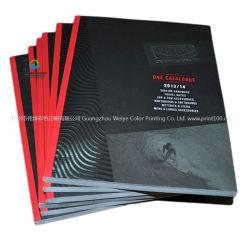 Custom nouvelle arrivée d'impression offset brochure papier livre