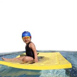 Haltbare Swimmingpool-Gleitbetriebe, die Matte schwimmen