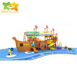 Barco Pirata 2018 Parque de Diversiones comercial en el interior de juguetes de niños juegos de jardín diapositiva