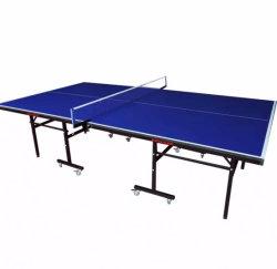 Mejor soporte de Tenis de mesa plegable Pricer utiliza juego de Ping Pong para interiores
