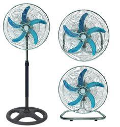 Ventilador eléctrico industrial de 18 pulgadas de 3 de 1 ventiladores de pie