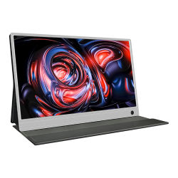 Mini portátil USB Monitor de pantalla, la resolución 1920 x 1080 Altavoces integrados
