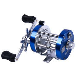 5000 2+1BB el sistema de freno doble bastidor de aluminio serie Ca Baitcasting carrete de pesca