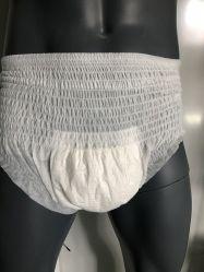 L'incontinence adulte Couches jetables tirez Super Confort d'absorption Touch surface sèche et unisexe fabrication pendant la nuit échantillon gratuit