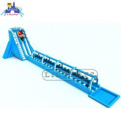 Utilisé de l'eau gonflable jeu commercial château gonflable Toboggan Inflatable