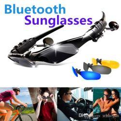 Sports Lunettes de soleil casque sans fil des écouteurs stéréo Bluetooth® pour smartphones