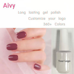 Botella blanca Uña de color de moda de gel UV Gel Polish