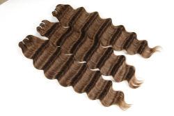 Remy cabelos humanos brasileiros trama frouxa onda profunda 14polegadas