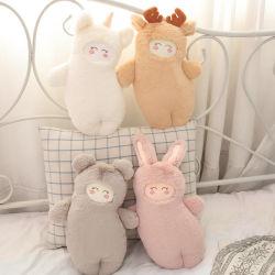 38cm Cute Cartoon Animal forestier Bébé Confort un jouet en peluche narration créative de l'ours en peluche de lapin farci soft
