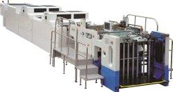 Автоматическое включение экрана печать с УФ лак застывания покрытие машины сушки