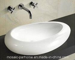 يدوية حصريّ يدهن خزفيّة فنّ حوض لأنّ غرفة حمّام أو مرحاض