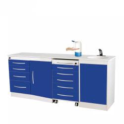 Professionnel OEM ODM personnalisé mobilier dentaire Corps en acier inoxydable inspiré Clinique Dentaire armoires médicales
