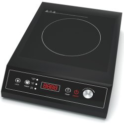 Het zwarte Kooktoestel van de Inductie van het Tafelblad van de Vuurkracht 3500W van de Kleur Grote voor Commercieel Gebruik