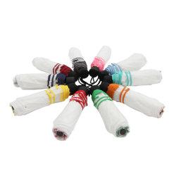 Le 8 nervature variopinte che fanno pubblicità all'ombrello del regalo accettano l'ombrello piegante automatico su ordinazione di marchio
