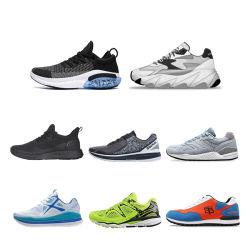 Легкая атлетика 2020 B2b производитель черного цвета с воздушной подушкой Дышащий Легкий сетчатый EVA единственной Trail Логотип Cool Sneaker Pimps повседневный Kid Женщины Мужчины спорта работает обувь