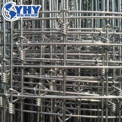 Commerce de gros 8FT 330FT clôture en grillage métallique tissé galvanisé d'Elk