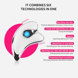 Dispositivo de elevación de la Cara Cuerpo cara masajeador adelgaza recargables USB masaje de rejuvenecimiento de la piel de instrumento instrumento de raspado