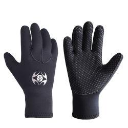 3мм Установите противоскользящие гибкого теплового неопреновый гидрокостюм перчатки для дайвинга, плавание с маской, каяки, серфинг и другие водные виды спорта