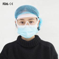 Veiligheidsbrillen van het Oog van het silicone de Medische voor het Werken
