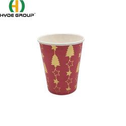 Vacaciones de Alta Calidad del Café Rojo otoñal tazas de café desechables