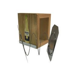Natuurlijke Pine Houten Corona Napkin dispenser